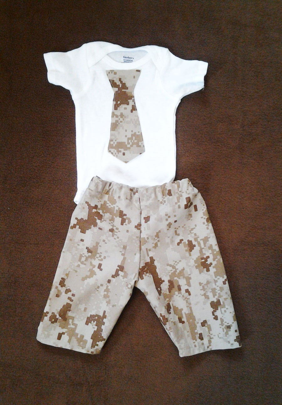 Military Outfit Baby Army Clothes navy ACU airforce
