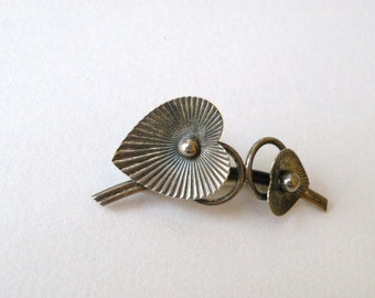 Beaucraft Sterling Silver Brooch 50s to 60s Vintage