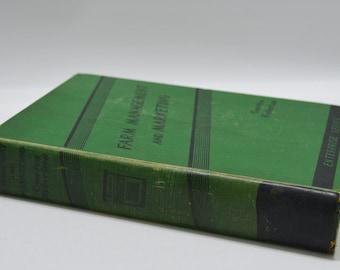 Vintage Farm Management & Marketing Book - Corn Growing - 1936 - Textbook
