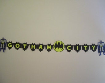 Gotham City batman banner