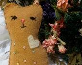 Heart Sweet Kittie Cat Lavender Sachet Pet Heart
