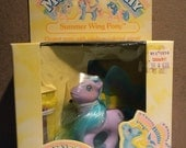My Little Pony Summer wings G1 High Flyer MIB RESERVED LISTING