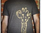 Screen Printed Giraffe T-Shirt - Adult Unisex
