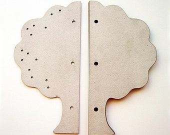 TREE Chipboard Album (10 pages)