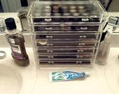 7 Drawer SKINNY  Makeup OR Jewelry Acrylic Organizer