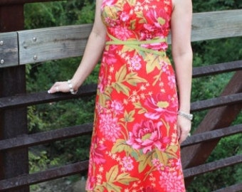 The Juliet Nouveau Dress Sewing  Pattern by  Kay Whitt