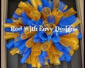 West Virginia Wreath, WVU, West Virginia, Wreath, College Wreath, College