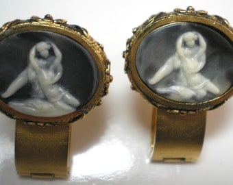 DANTE Museum Masterpiece Cuff Links    Nudes   Item No: 16030