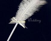 White Feather Pens Wedding White Feather Pens