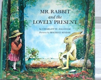Vintage Children's Book, Mr. Rabbit and the Lovely Present