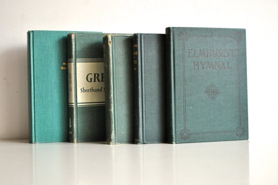 Emerald Green Book Collection