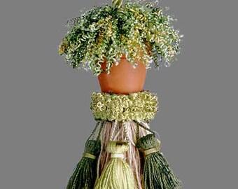 Flower Pot Tassel