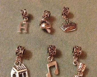 King Henry VIII Story Slider Bail Charms