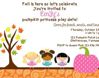 pumpkin princess party