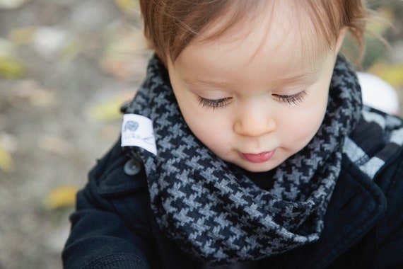 reserved toddler scarf boys infinity scarf checkered