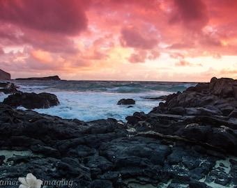 Sunrise at Makapu'u Beach
