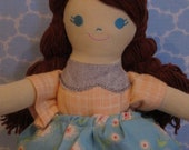Pretty Petunia Doll for blinky blue eyes