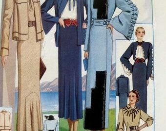 French Fashion Plate