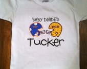 Personalized Baby Divided T-Shirt or Onesie