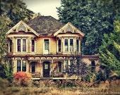 Victorian House Photo Oregon Fairy Tale--Fine Art HDR Photography 8x12