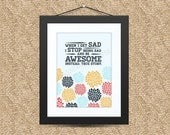 Graphic Art Print (8x10): Awesome