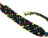 Handwoven Multicolored Friendship Bracelet - woven bracelet gift for best friends