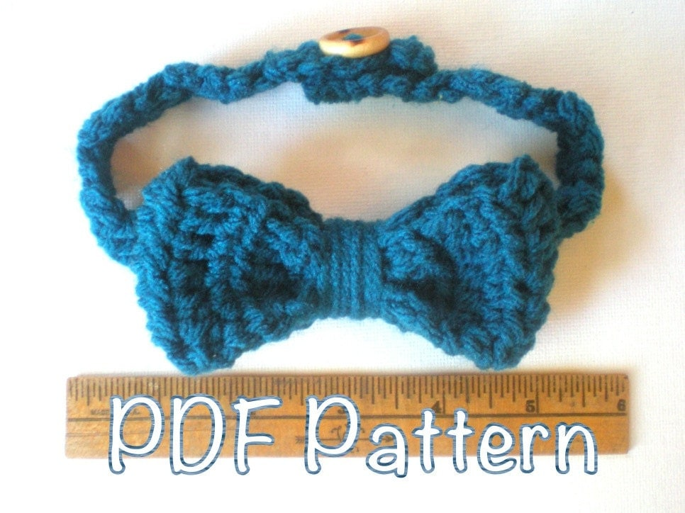 Crochet Baby Tie Pattern Pakbit For