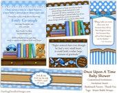 Printable Storybook Baby Shower Package