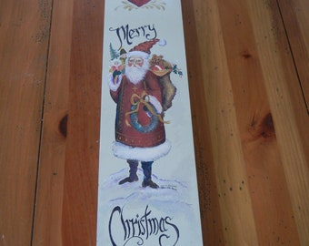 Handpainted narrow Decorative Sled by me and signed