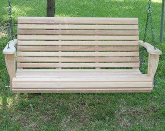 5 Foot Classic Cypress Porch Swing