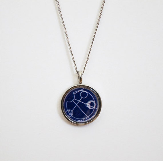doctor who gallifreyan necklace allons y