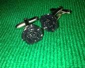 Black Rose Steampunk cufflinks