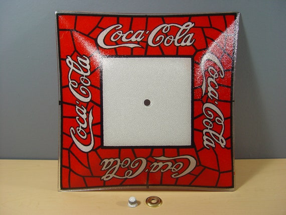 1970s Vintage Coca Cola Glass Ceiling Light Cover
