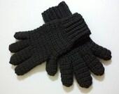 Hand Crochet Winter Gloves