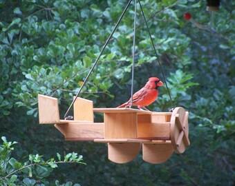 Biplane cypress feeder