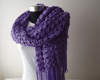 lilac crochet shawl accessories crochet shawl wrap shawl gift for her