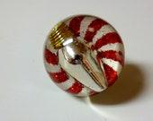 Christmas Light Ring - Snow Globe Illusion Ring - Handmade in the USA - Perfect Stocking Stuffer - Christmas Lights
