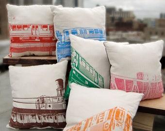 Chicago el pillows SET OF SIX