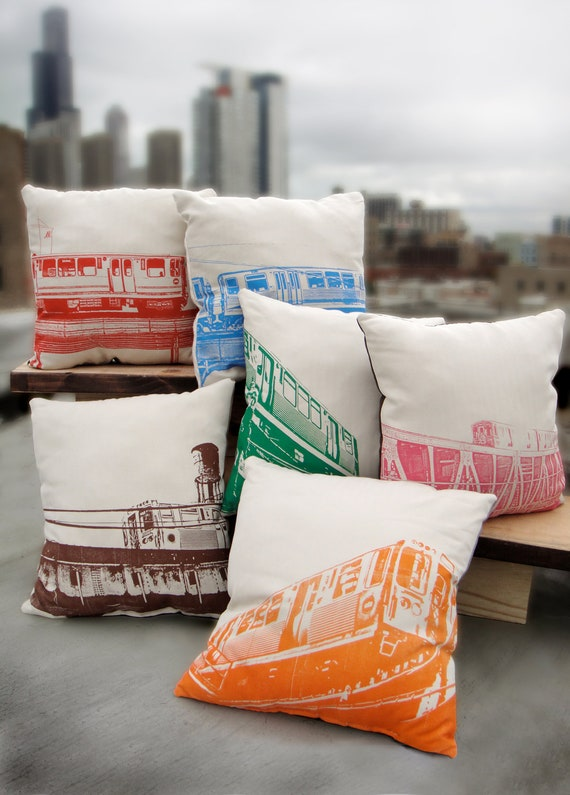 Chicago el pillows SET OF SIX