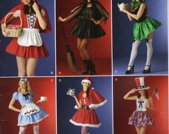 Simplicity Costume Sewing Pattern 0813 (aka 4015) - Misses' Mini-Dress Costumes (18-24)