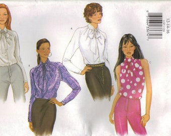 Butterick Sewing Pattern 3197 - Misses' Blouse (6-10, 12-16, and 18-22)