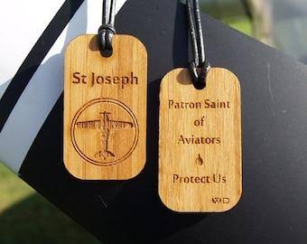 St Joseph, Patron Saint of Aviators and Air Travelers