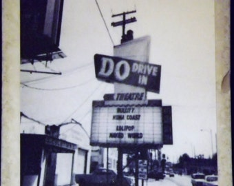 Do Drive In Theatre Coaster