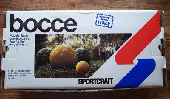 Sportcraft Bocce Ball Lawn Bowling Set