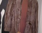 Antique Fur Coat .... 1950's ..... Glamour Fur Coat..... Lightweight Fur Coat ... Size 8-10