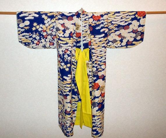 Vintage kimono for little girl
