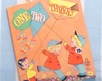 One Two Three, 1953 Whitman Tell-a-Tale Book