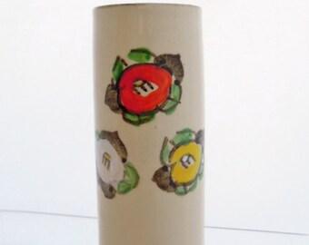 Hand-painted Vase, vintage, Japanese