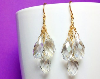 Beautiful Handmade Swarovski Crystal Drops