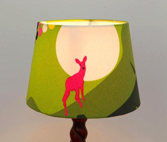 Lamp Shade, Ceiling Pendant lampshade, Deer Lampshade - Animal Light